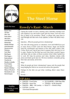 Steel Horses March 2011 Newsletter