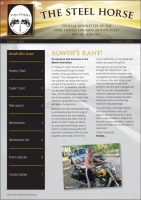 Steel Horses March 2012 Newsletter