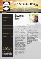 Steel Horses March 2013 Newsletter